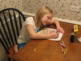 Erica coloring picture