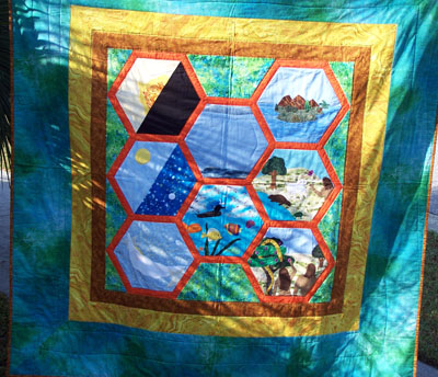 Creation Quilt - hand applique