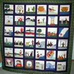Old Testament Bible quilt by Rosemary Youngs